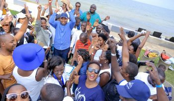 Team Building at the beach in Entebbe